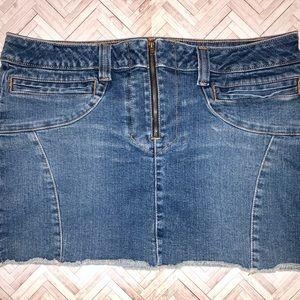 American Eagle Jeans Mini Skirt 12